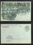 FRANKFURT Oder Monschein-AK Gruss aus dem Schützenhause 1905 (d6830)