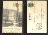 FREIENWALDE Oder sw-AK Papenmühle 1899 (d6833)