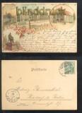 DORTMUND farb-AK Gruss aus ..... vier Ansichten 1907 (d6852)