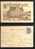 HAGEN farb-AK Neue Post mit Bahnhof 1910 (d6855)