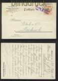 dt. Reich 4 Postkarten mit Zensuren aus dem Elsass 1914 bis 1917 (42721)
