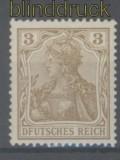 dt. Reich Mi #  69 I postfrisch Plattenfehler (35945)