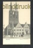 STENDAL sw-AK Rathaus mit Marienkirche ungebraucht (d6894)