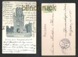 STENDAL sw-AK Gruss aus .... Uenglinger Tor 1904 (d6895)