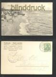 BERG-DIEVENOW sw-AK Strandansicht 1904 (d6937)