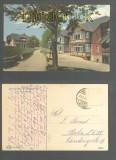 BRÜCKENBERG an der Brotbaude farb-AK Villa Edelweiss 1922 (d6965)