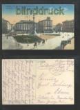 LEMBERG farb-AK Maryacki-Platz und Mickiewicz-Denkmal 1916 Feldpost (a2125)