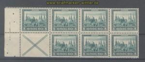 dt. Reich Heftchenblatt Mi # 68 A Nothilfe 1930 postfrisch (35759)