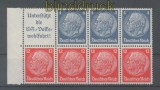 dt. Reich Heftchenblatt Mi # 89 B Hindenburg 1937/39 postfrisch (35787)