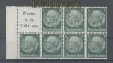 dt. Reich Heftchenblatt Mi # 96 B Hindenburg 1939 postfrisch (35794)