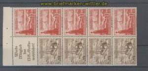 dt. Reich Heftchenblatt Mi # 110 B Winterhilfswerk 1937 postfrisch (35808)