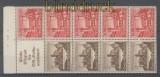 dt. Reich Heftchenblatt Mi # 114 B Winterhilfswerk 1939 postfrisch (35812)