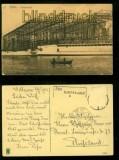 STETTIN sw-AK Vulkanwerft Nebenastempel aus Dampfschiff 1912 (d6492)