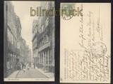 HAMBURG sw-AK Alt-Hamburg Großer Bäckergang 1905 (d0104)