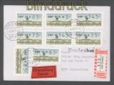 Berlin ATM 1987 Mi # 1 Versandstellensatz 2 komplett auf FDC Ersttagsbrief (42743)