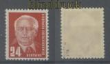 DDR Mi #  252 b postfrisch Präsident Wilhelm Pieck geprüft Paul BPP (35920)