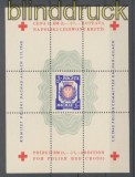 Polen 1945 Lagerpost Dachau-Allach Block IV Rote Kreuz Block ohne Gummi (35924)