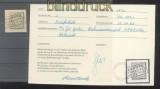 dt. Reich Mi #   2 gestempelt auf Briefstück (35925)