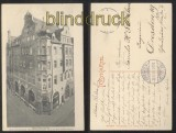 AUGSBURG sw-AK Neue Gewerbehalle 1905 (d0142)