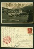 AROSA sw-AK Teilansicht Luftpost 1934 (a1093)