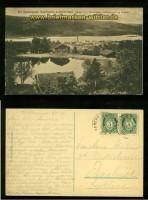 LILLEHAMMER sw-AK Udsigt over Maihaugen 1916 (a2046)