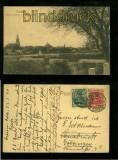 CROSSEN sw-AK Blick auf Crossen von der Bismarckstrasse 1920 (a2056)