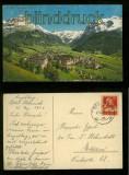 ENGELBERG farb-AK Panorama mit Hahnen, Spannörter und Titlis 1929 (a2064)