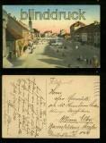 Marburg a. d. Drau farb-AK Hauptplatz Feldpost 1917 (a2086)