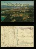 Marburg a. d. Drau farb-AK Totalansicht Feldpost 1918 (a2087)