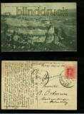 RONDA bei MALAGA sw-AK Hotel Reina Victoria y vista genaral del Tajo 1924 (a2090)