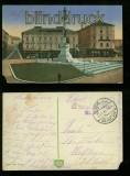 LEMBERG LWÓW farb-AK Mickiewicz-Monument Feldpost 1916 (a2092)