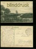 KOBRYN sw-AK Brücke auf Muchomietz Feldpost 1917 (a2094)