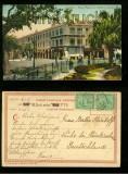 Ägypten CAIRO farb-AK Eden-Palace et Esbekie Garden (a2096)