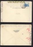 dt. Reich Mi # 767 Auslands-Zensur-Brief Bad Schmiedeberg 1942 (42733)