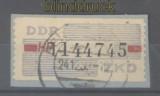 DDR Dienstmarken B Mi # 28 HP Berlin (Ost) gestempelt auf Briefstück (42842)
