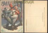 Italien Propagandakarte 1941 von Boccasile ungebraucht (35720)