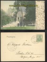 CADINEN bei Elbing farb-AK Kapelle auf der königl. Herrschaft 1905 (d0230)