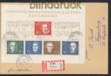 Bund Bund Mi # Block 2 Beethovenblock Ersttag-Tagesstempel (24674)