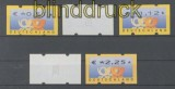 Bund ATM 2002 Mi # 4.1 Versandstellensatz 2 postfrisch (43300)