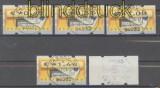 Bund ATM 2002 Mi # 5.1 Versandstellensatz 5 gestempelt (43301)