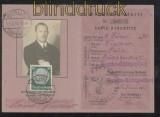 dt. Reich Mi # 525 auf Postausweiskarte BERLIN-TEMPELHOF 1937 (42859)