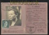dt. Reich Mi # 796 auf Postausweiskarte SCHLOTHEIM 1942 (42861)