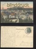 GLATZ farb-AK Blick auf Stadt und Festung 1914 (d0241)