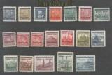 Böhmen und Mähren Mi # 1/19 Aufdrucksatz postfrisch signiert (43537)