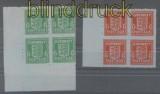 dt. Besetzung 2. WK Guernsey Mi # 4/5 postfrische 4er-Blöcke (43541)