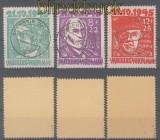 SBZ Mi #  20/22 Opfer des Faschismus gestempelt geprüft Kramp BPP (43592)