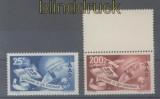 Saarland Mi # 297/98 postfrisch Europarat (43611)