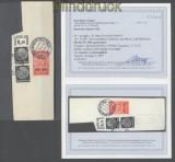 dt. Reich Mi # 509 Einzelmarke aus Nothilfe-Block gestempelt Fotobefund Schlegel BPP (43615)