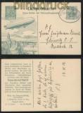 dt. Reich Flugpost Sonder-GSK SFP 1 gestempelt 1912 (43648)