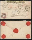 dt. Reich Mi #   5 und 19 Wertbrief BERLIN 1872 (43624)